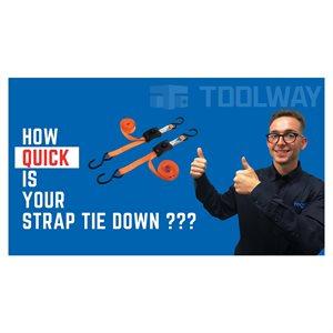 2pc Smart CAM Buckle Tie Down - Videos