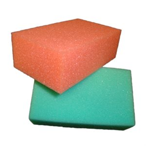 2pk Eversoft Foam Sponge 5.5in x 3.5in x 2in