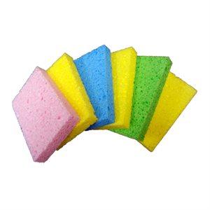 6pk Cellulose Sponge 4.5in x 2.75in x 0.5in