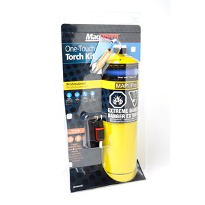 Self-Lighting Torch and Map / Pro Cylinder 2pc Kit HAZ