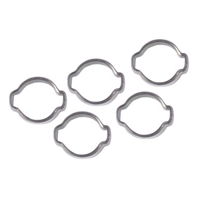 5pc Ear Clamps 3 / 8in OD