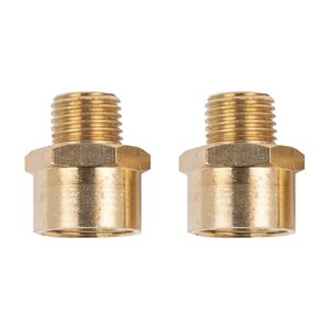 2pc Adaptor ¼in M x 3 / 8in F