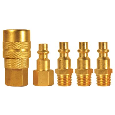 5 pc M-type Quick Coupler Set