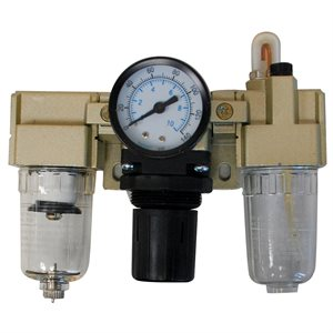 Air Filter M Reg. & Lubricator with Gauge