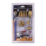 14pc Air Accessory Set Steel