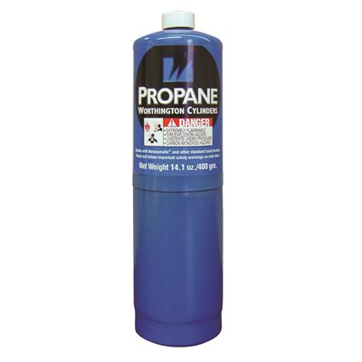 Haz Propane Cylinder 400G (14.1oz) Eco-G1