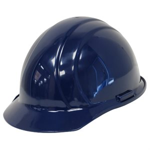 Blue Hardhat Slide Lock Adjustment
