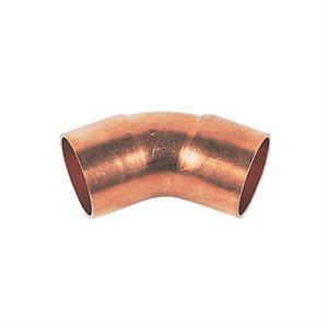 ½ X 45 Copper Elbow