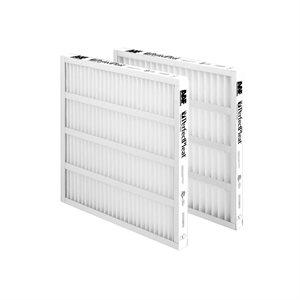 12Pk 20X25x1 High Eff.Pleated Filter Anti-Bac