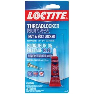 Adhesive Loctite Threadlocker Blue 242 Removable 6ml Lepage 303379