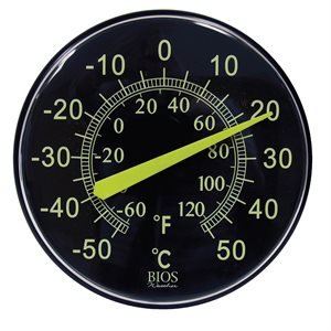 Neon 12in Dial Thermometer
