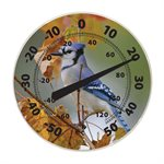 12in Dial Thermometer - Blue Jay