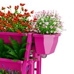 2PC Raised Bed Side Planter Kit Pink