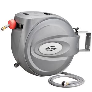 Hose Reel Auto-Retractable Wall Mountable w / 5 / 8in x 80ft Hose