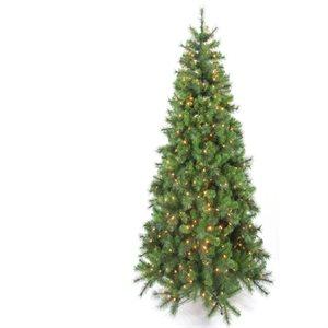 Hastings Pre-Lit Artificial Christmas Tree Slim Profile 7-1 / 2ft