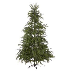 Whispy Cedar Pre-Lit Artifical Christmas Tree 8ft