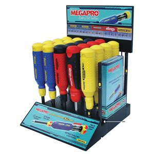 MegaPro Counter Display 20pc-MUST BUY 20 DRIVERS TO GET DISPLAY