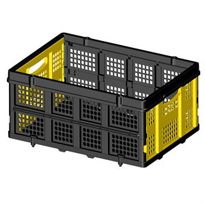 STANLEY FT505 Folding Utility Basket for Hand Truck 25Kg